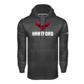 Under Armour Carbon Performance Sweats Team Hoodie-Hartford w/ Hawk Combination Mark