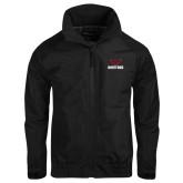 Black Charger Jacket-Hartford w/ Hawk Combination Mark
