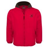 Red Survivor Jacket-Primary Logo Mark H