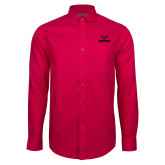 Red House Red Long Sleeve Shirt-Hartford w/ Hawk Combination Mark