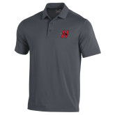 Under Armour Graphite Performance Polo-Primary Logo Mark H