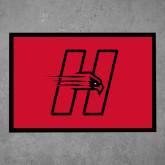 Full Color Indoor Floor Mat-Primary Logo Mark H