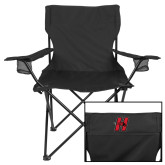 Deluxe Black Captains Chair-Primary Logo Mark H
