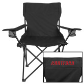 Deluxe Black Captains Chair-Hartford Logotype