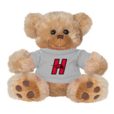 Plush Big Paw 8 1/2 inch Brown Bear w/Grey Shirt-Primary Logo Mark H