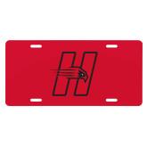 License Plate-Primary Logo Mark H