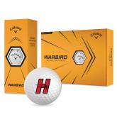 Callaway Warbird Golf Balls 12/pkg-Primary Logo Mark H