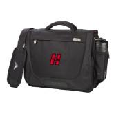 High Sierra Black Upload Business Compu Case-Primary Logo Mark H
