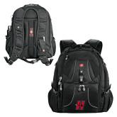 Wenger Swiss Army Mega Black Compu Backpack-Primary Logo Mark H
