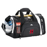 High Sierra Black 22 Inch Garrett Sport Duffel-Primary Logo Mark H