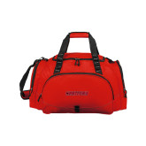 Challenger Team Red Sport Bag-Hartford Logotype