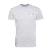 Next Level SoftStyle White T Shirt-Hawaii