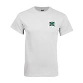 White T Shirt-Official Logo