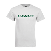 White T Shirt-Hawaii