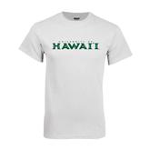 White T Shirt-University Of Hawaii