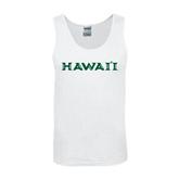 White Tank Top-Hawaii