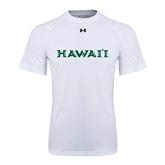 Under Armour White Tech Tee-Hawaii