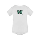 White Infant Onesie-Official Logo