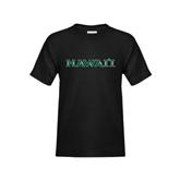 Youth Black T Shirt-Hawaii