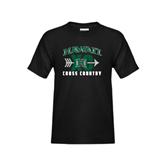Youth Black T Shirt-Cross Country XC