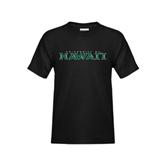 Youth Black T Shirt-University Of Hawaii