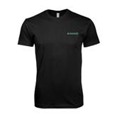 Next Level SoftStyle Black T Shirt-Hawaii