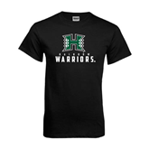 Black T Shirt-Stacked Rainbow Warriors