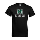 Black T Shirt-Baseball