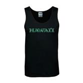 Black Tank Top-Hawaii