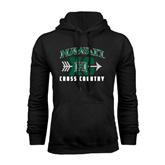 Black Fleece Hoodie-Cross Country XC