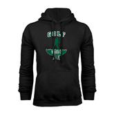 Black Fleece Hoodie-Golf Arched With Player