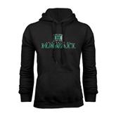 Black Fleece Hoodie-Stacked University of Hawaii