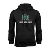 Black Fleece Hoodie-Swimming & Diving