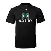 Under Armour Black Tech Tee-Stacked Rainbow Warriors