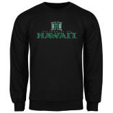 Black Fleece Crew-Stacked University of Hawaii