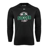 Under Armour Black Long Sleeve Tech Tee-Soccer Circle