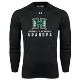 Under Armour Black Long Sleeve Tech Tee-Grandpa