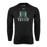 Under Armour Black Long Sleeve Tech Tee-Soccer