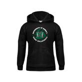 Youth Black Fleece Hoodie-Volleyball Ball w/ Stars