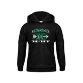 Youth Black Fleece Hoodie-Cross Country XC