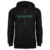 Black Fleece Full Zip Hoodie-Hawaii