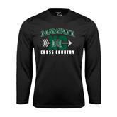 Performance Black Longsleeve Shirt-Cross Country XC