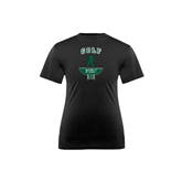 Youth Syntrel Performance Black Training Tee-Golf Arched With Player