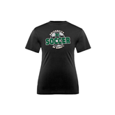 Youth Syntrel Performance Black Training Tee-Soccer Circle