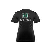 Youth Syntrel Performance Black Training Tee-Basketball