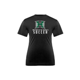 Youth Syntrel Performance Black Training Tee-Soccer