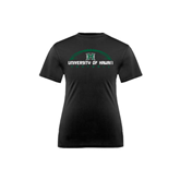 Youth Syntrel Performance Black Training Tee-Football Arched