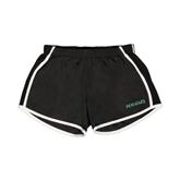 Ladies Black/White Team Short-Hawaii