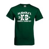 Dark Green T Shirt-Cross Country XC
