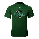 Under Armour Dark Green Tech Tee-Soccer Circle